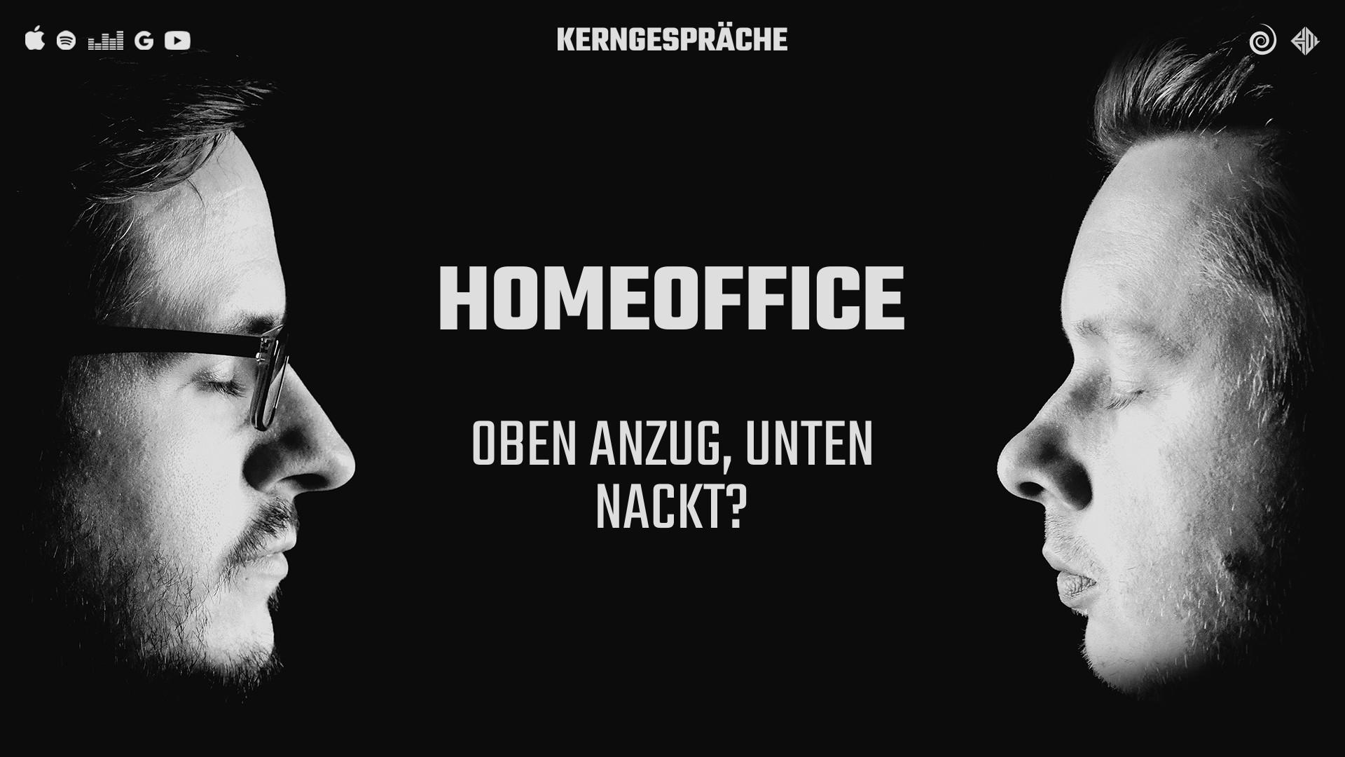 Homeoffice: Oben Anzug, unten nackt?